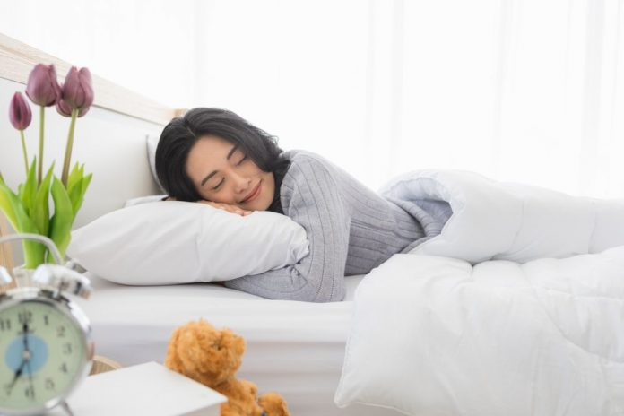 Having A good night sleep