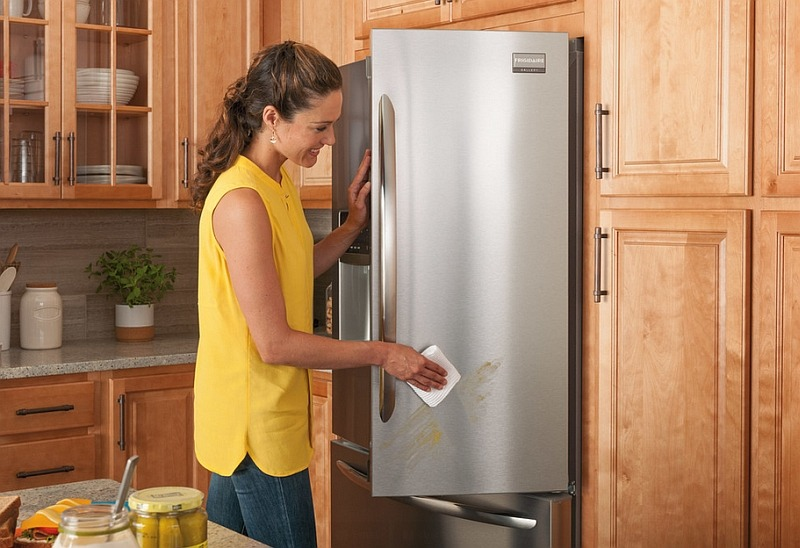 Clean Around And Inside Appliances
