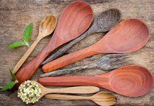 How to Clean Wooden Kitchen Utensils