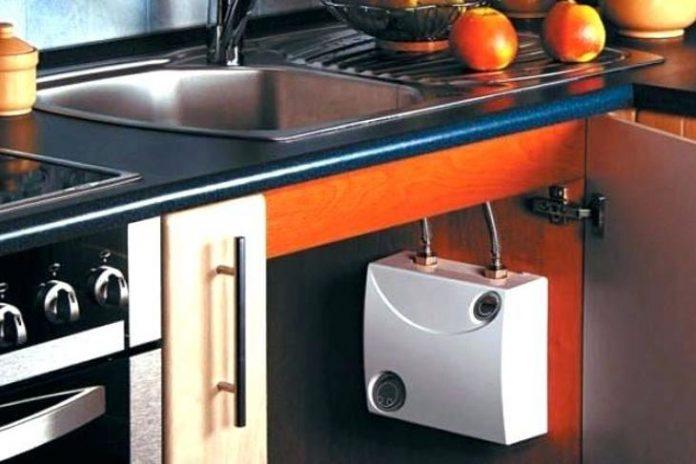 Installation Under Sink Water Heater