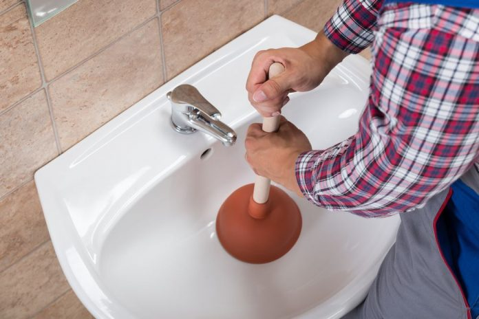 how to unclog a bathroom sink naturally