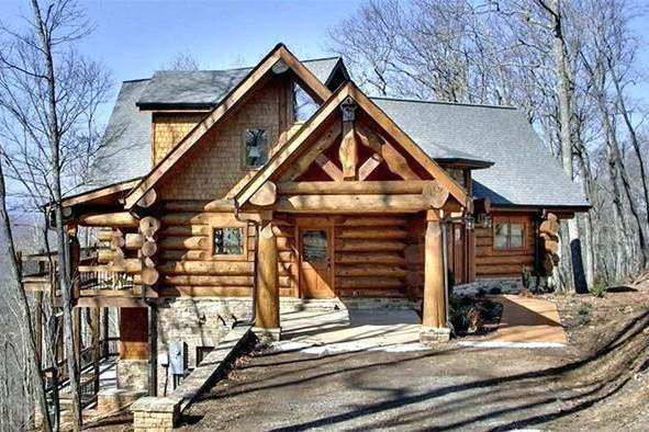 Log Cabin and Log Home Gallery: Customize Your Own