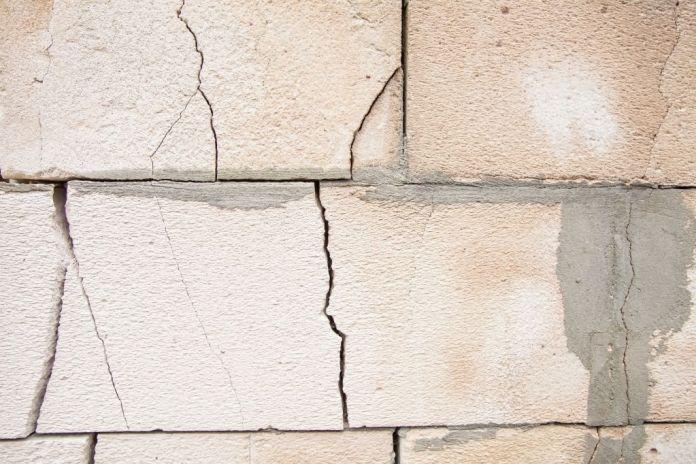 crack in basement wall leaking water