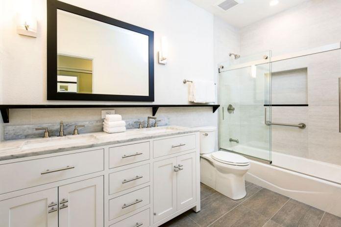 How to Fix Water Damage on a Bathroom Vanity Door
