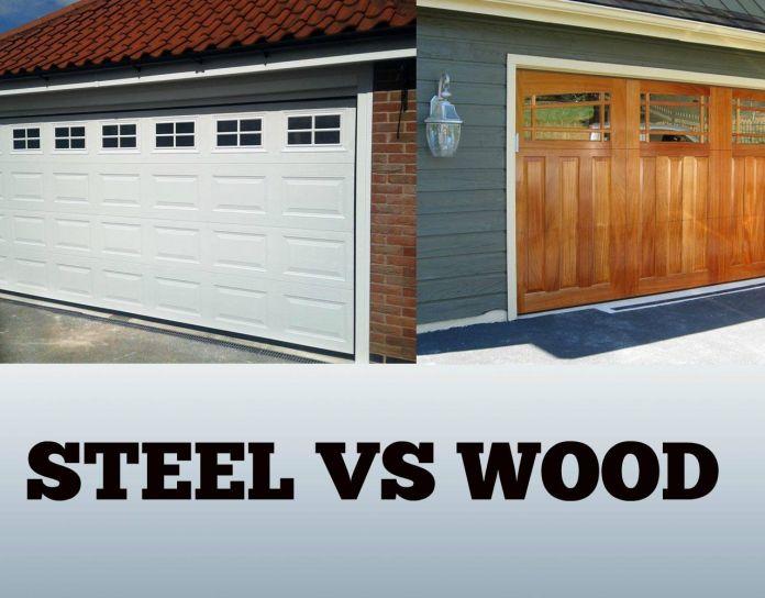 steel-garage-doors-vs-wood