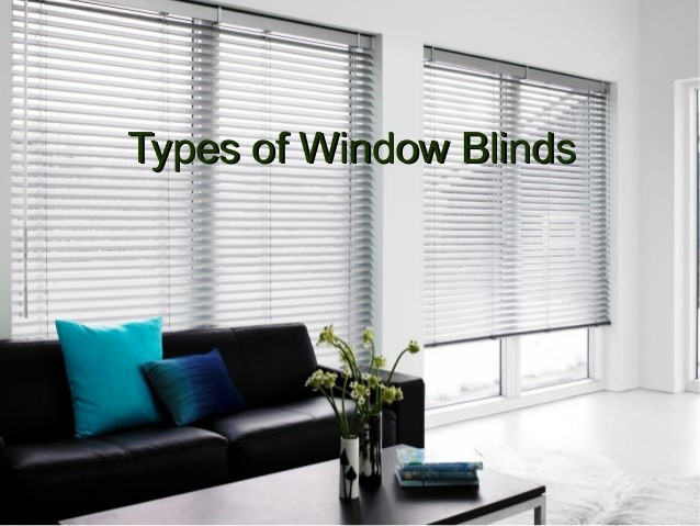 types-of-window-blinds