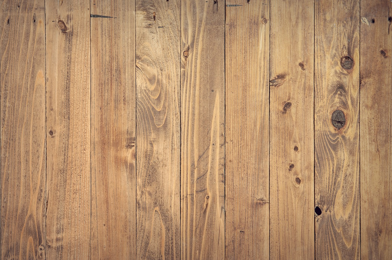 Different flooring types have different physical resistance.