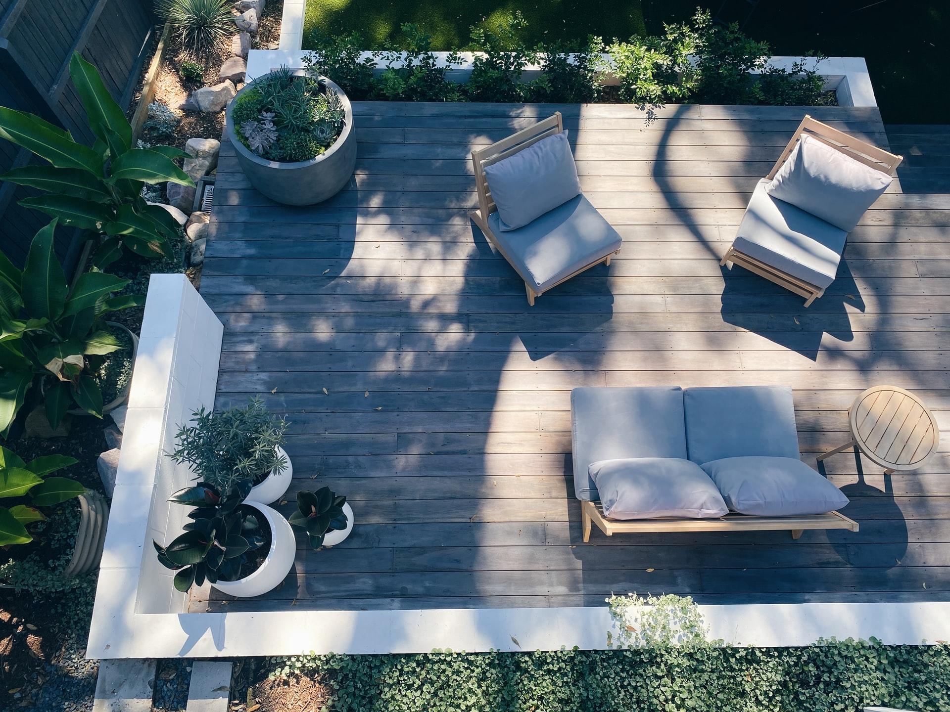 hardwood for making backyard decks